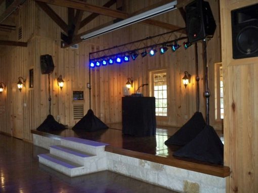 DJ Package 2 - Sound with Stage Lighting - Future Sounds Disc Jockey