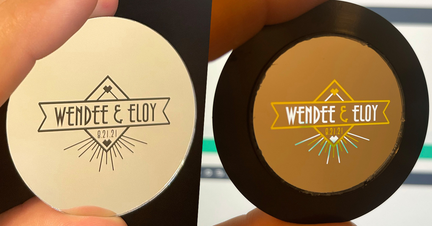 One Vs Two Color Gobo