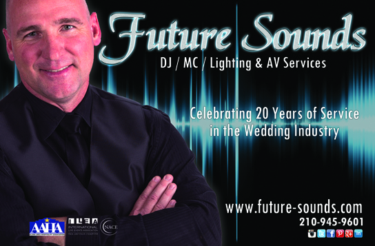 Future Sounds Disc Jockey - San Antonio Wedding Party Event DJ Service